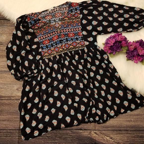 c63a796682 Umgee Tops | Floral Bohemian Print Blouse | Poshmark